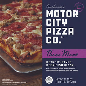Motor City Pizza Co. | Three Meat Box