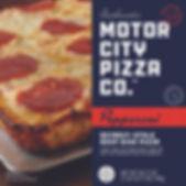 Motor City Pizza Co.   Pepperoni Box