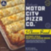Motor City Pizza Co. | Five Cheese Breadsticks Box
