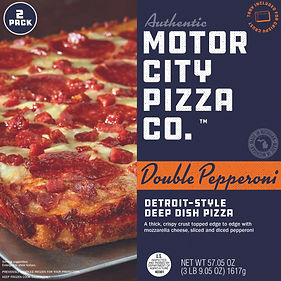 Motor City Pizza Co. | Double Pepperoni Box