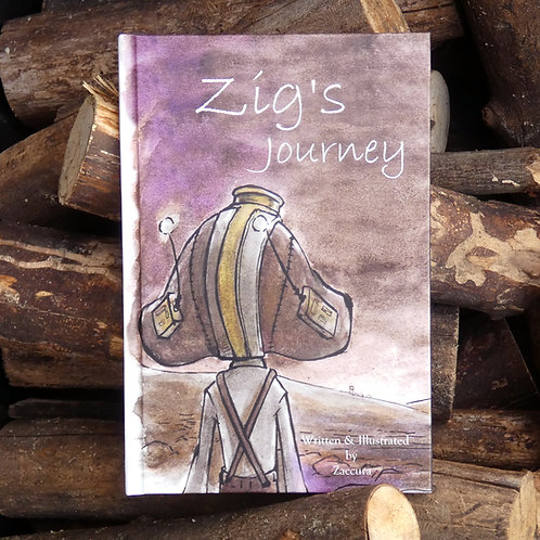 Zig's Journey   BOOK   Hard Cover