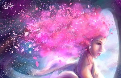 Cherry Blossoms from the Stars