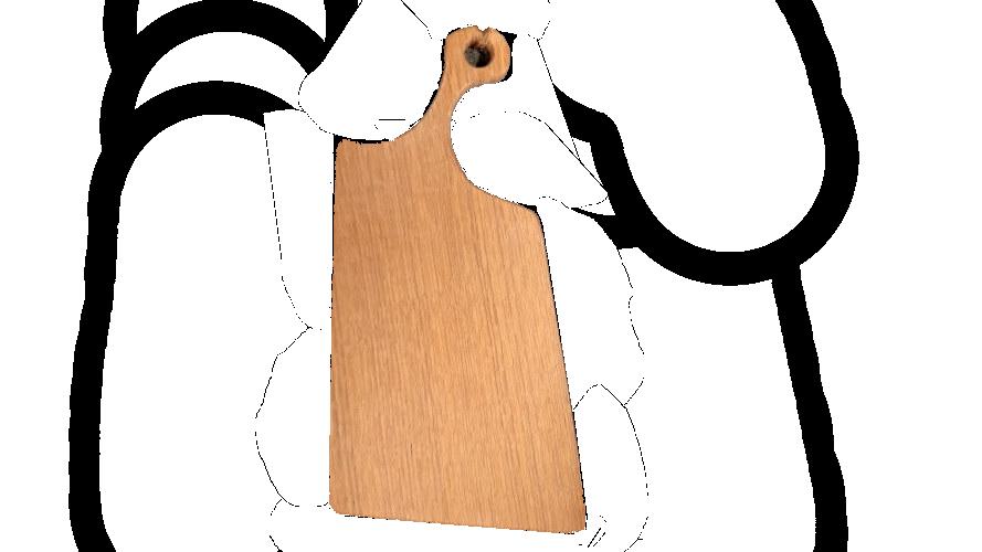 Planche à découper en chêne n° 4