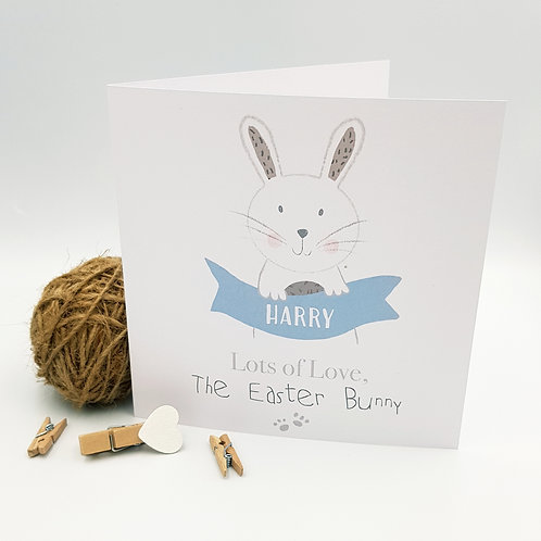 Love, The Easter Bunny Card