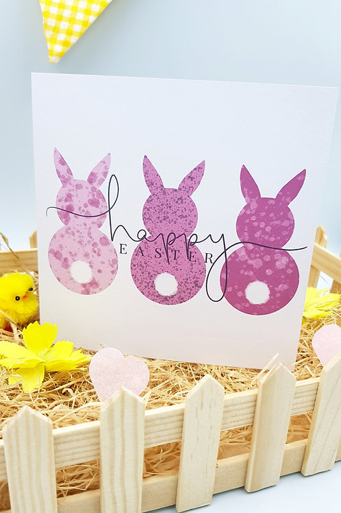 Three Little Bunnies Card