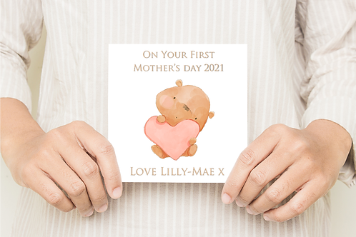 Little Bear Mothers Day Card