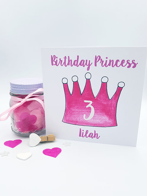 Princess Crown Card