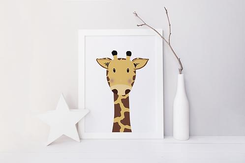 Sweet Giraffe Print