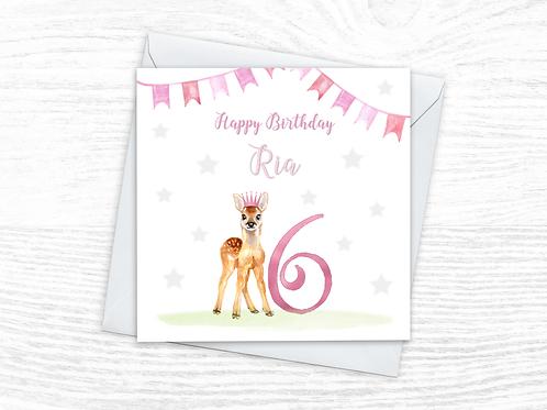 Deer Crown Card