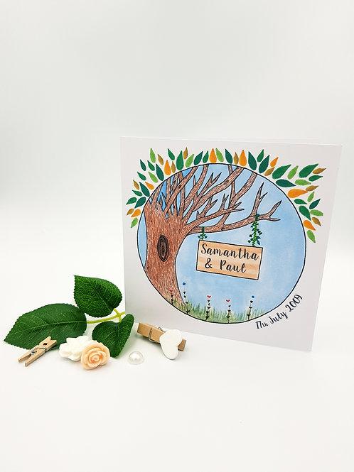 Anniversa-tree Card