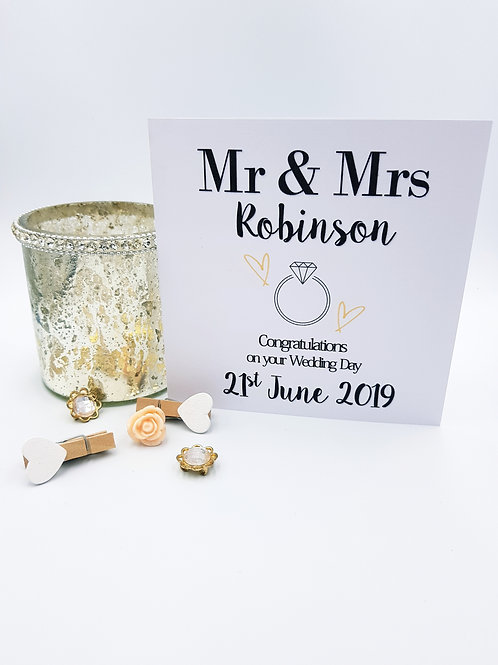 Wedding Ring Card
