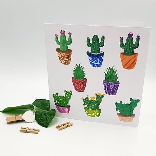 Cactus/Succulent Card