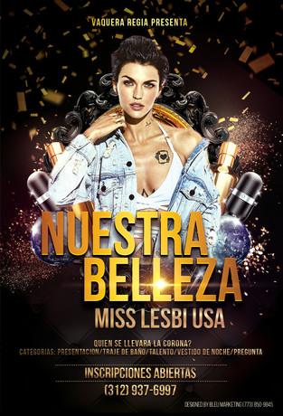 NUESTRA BELLEZA FLYER DESIGN AND PRINTING