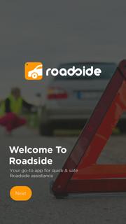 ROADSIDE APP - LOGO AND APP