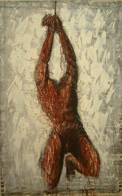 """""""Postać ze skrępowanymi rękoma"""", 1988 r."""