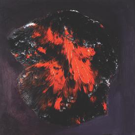 Tomasz Milanowski, Bez tytułu, 2012, olej na płótnie, 60 x 60 cm