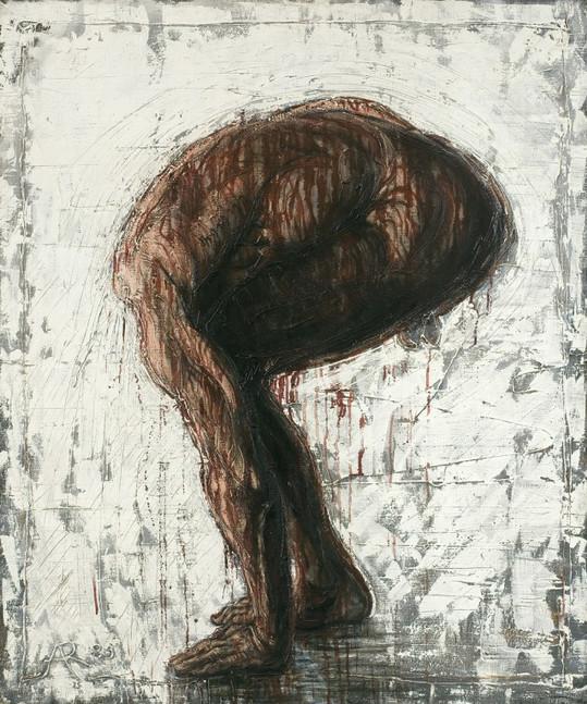 """""""Postać bez głowy"""", 1989 r."""