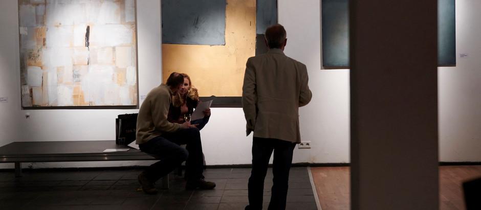 """Fotorelacja z wernisażu #grupawolno """"Dojenie van Gogha"""""""