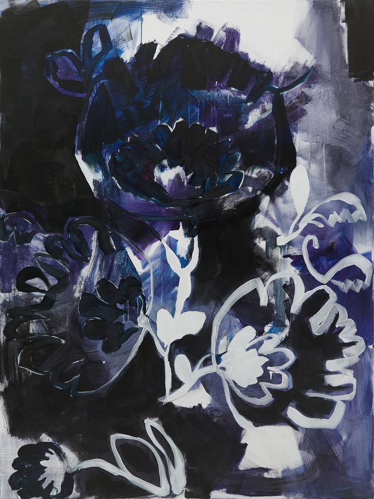 """""""11 Listopada"""", 2020 r. akryl, screen ink na płótnie, 160 x 120 cm"""