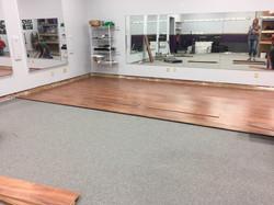 AoK Floor installation