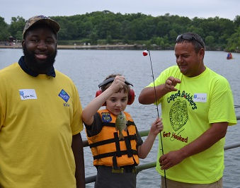 GMFF grant helps fund Cops and Bobbers event