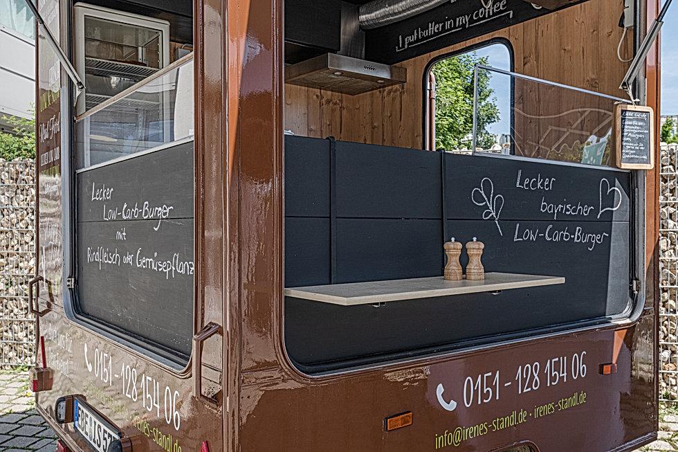 Food Trucks United , Irenes Low Carb Standl