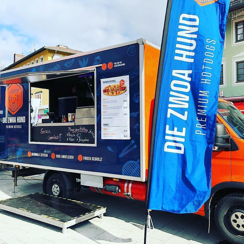 Food Trucks United , Die Zwoa Hund