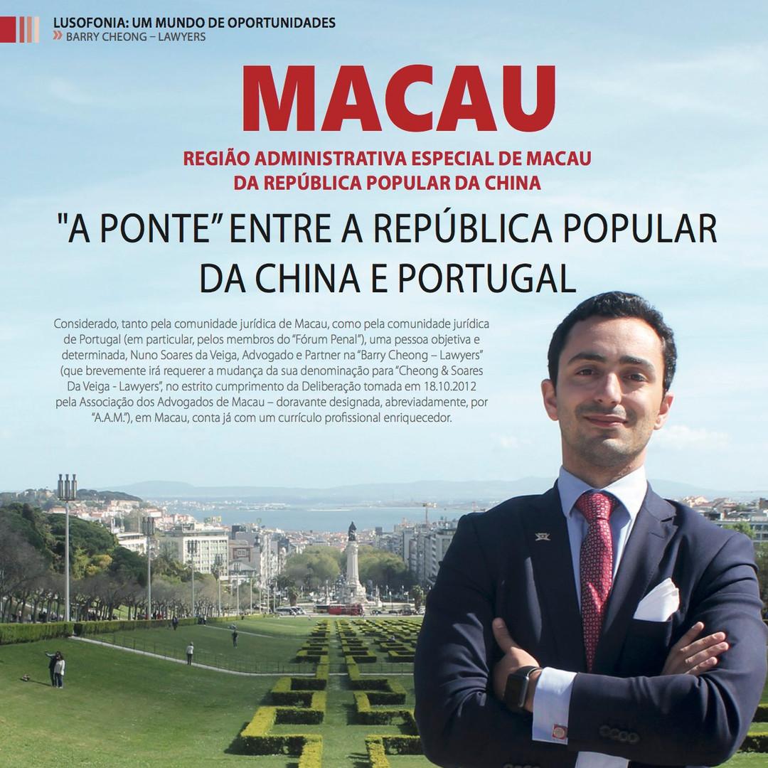 Macau e a China