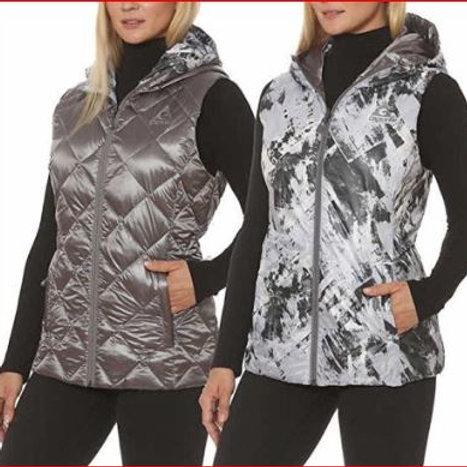 Reversible Hooded Packable Down Vest