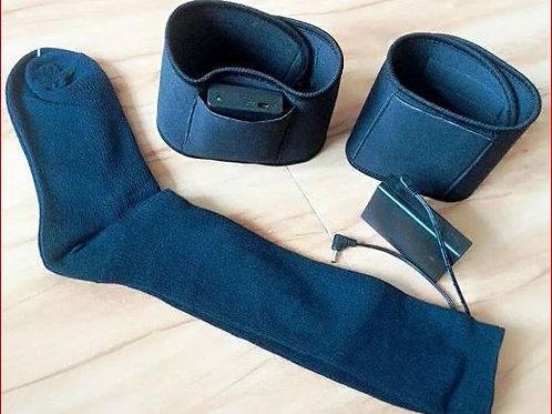 Socket warmer - calcetines con calor c/control a bateria