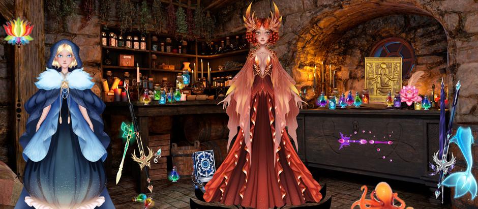 An Alchemist's Studio