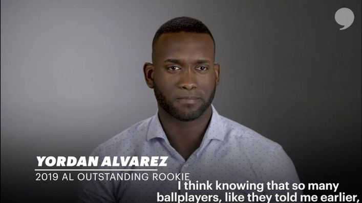 2019 AL Outstanding Rookie | Yordan Alvarez