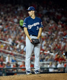 """Brewers Pitcher Brent Suter A """"TREE HUGGER'' ON A MISSION"""
