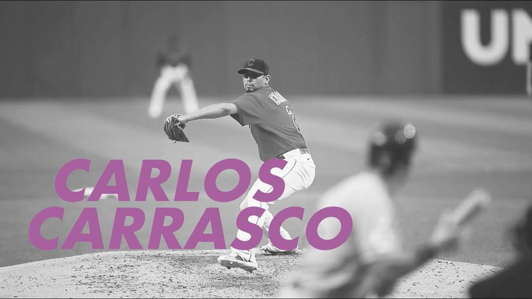 American League Comeback Player | Carlos Carrasco | 2020 Players Choice Awards