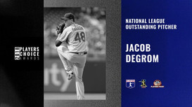 2018 NL Outstanding Pitcher | Jacob deGrom
