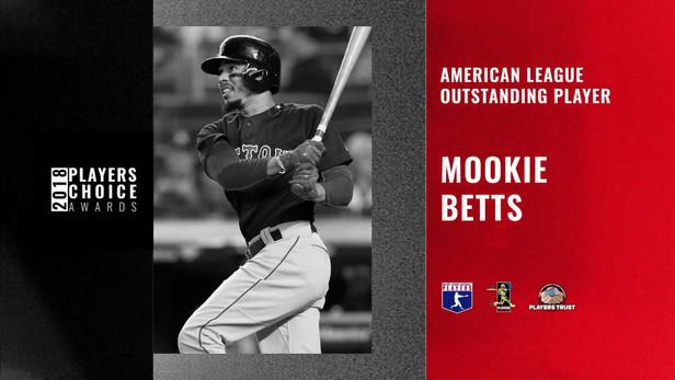 2018 AL Outstanding Player | Mookie Betts