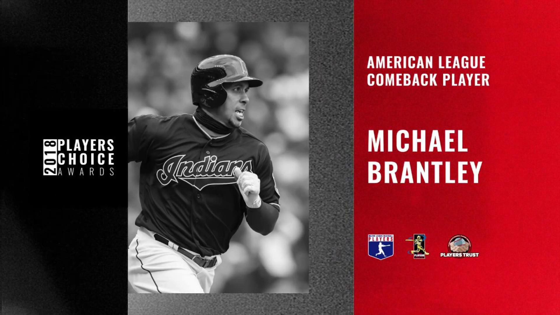 2018 AL Comeback Player | Michael Brantley