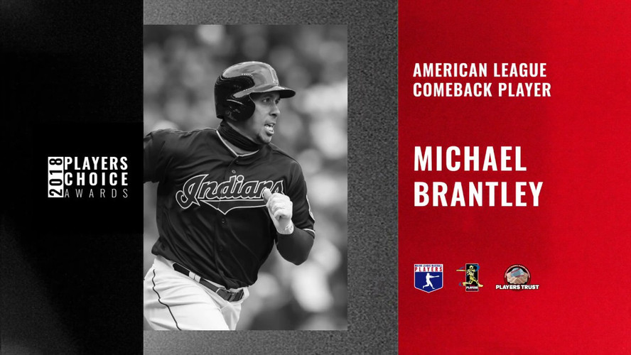 2018 AL Comeback Player | Michael Brantley