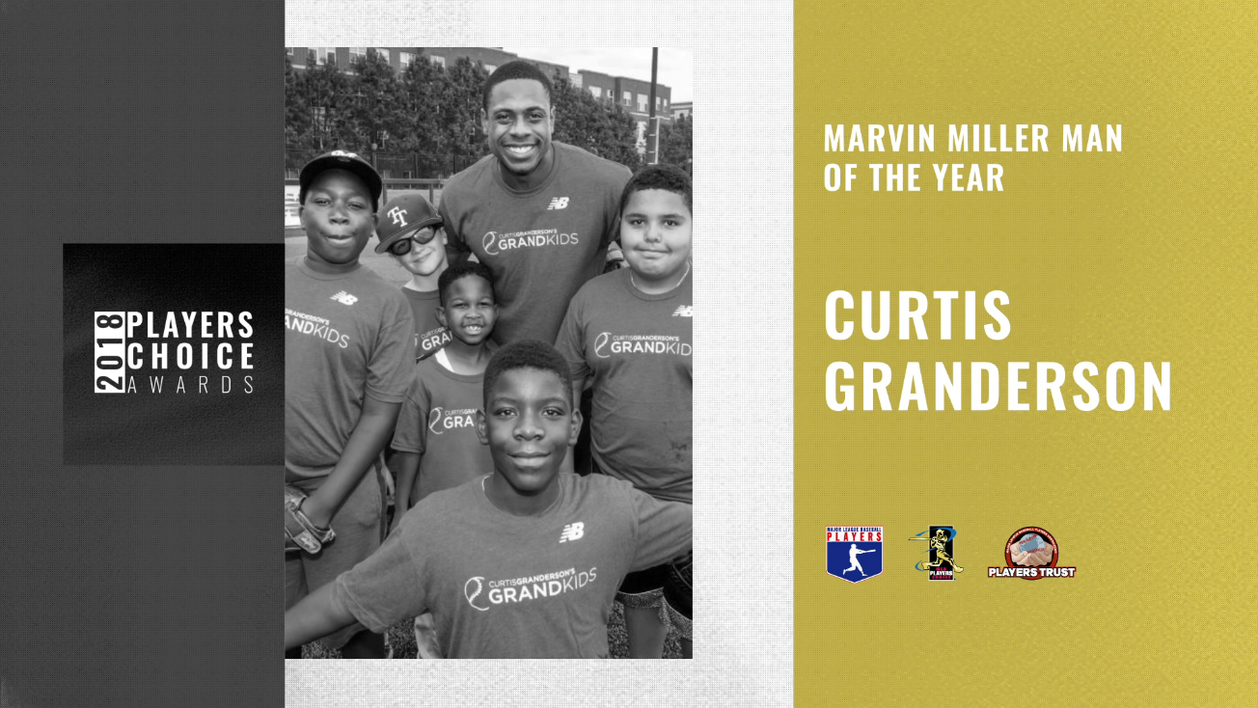 2018 Marvin Miller Man of the Year | Curtis Granderson