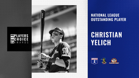 2018 NL Outstanding Player | Christian Yelich