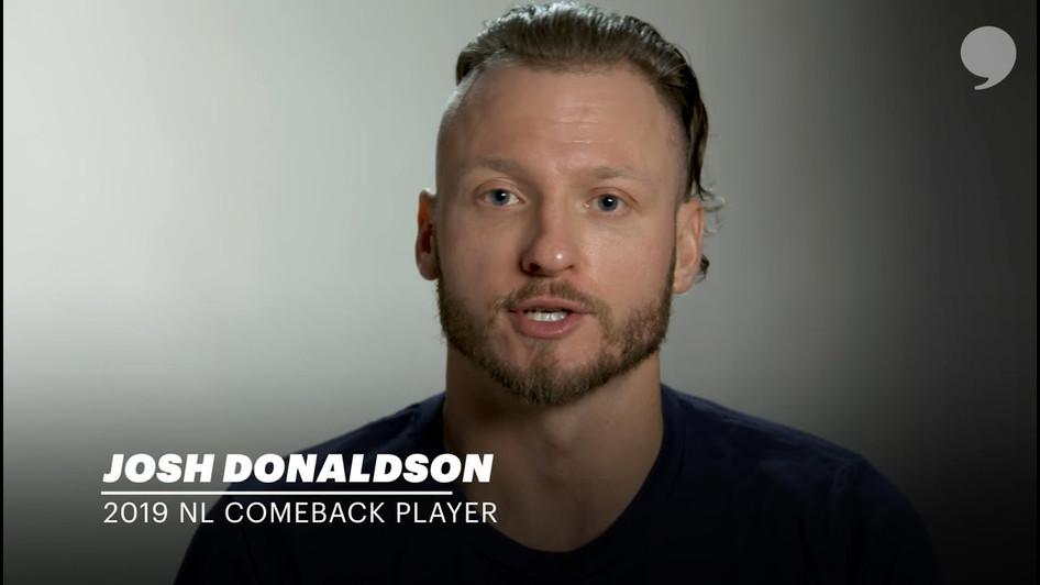 2019 NL Comeback Player | Josh Donaldson