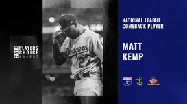 2018 NL Comeback Player | Matt Kemp