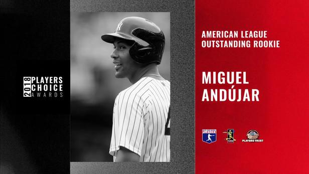 2018 AL Outstanding Rookie | Miguel Andújar