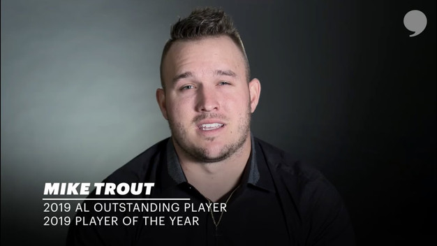 2019 AL Outstanding Player and Player of the Year | Mike Trout