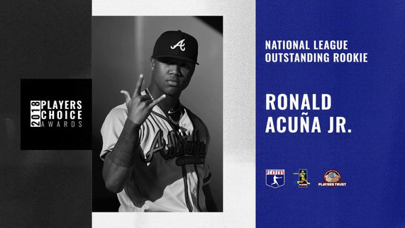 2018 NL Outstanding Rookie | Ronald Acuña Jr.
