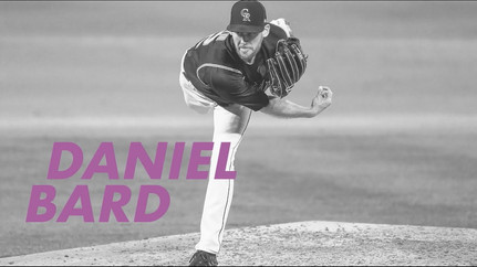 National League Comeback Player | Daniel Bard | 2020 Players Choice Awards