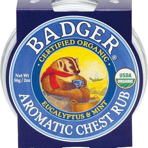 Bálsamo orgánico para el resfrío Badger
