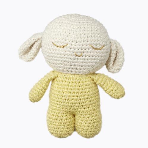 Angel Caller Rattle Sheep -Oveja