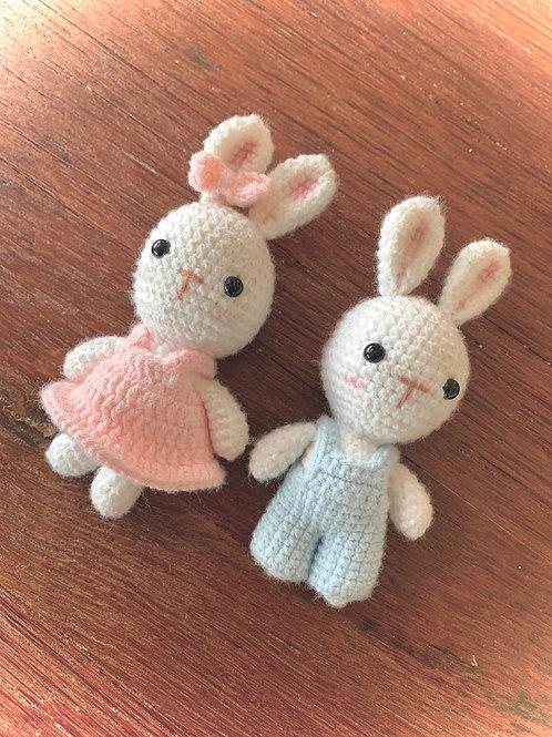 Conejo/a peluche Crochet