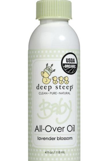 Aceite Corporal orgánico Deep Steep Baby -Lavanda